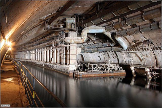 Abandoned Submarine Base BalaklavaUkraine Most Haunting - 24 mysterious haunting abandoned buildings soviet union