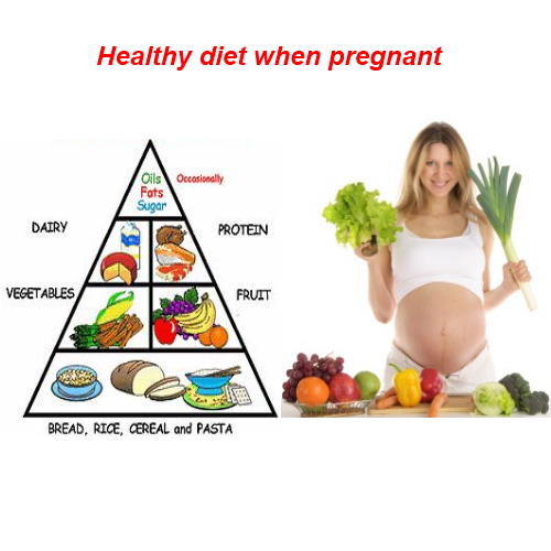 can taking diet while pregnant