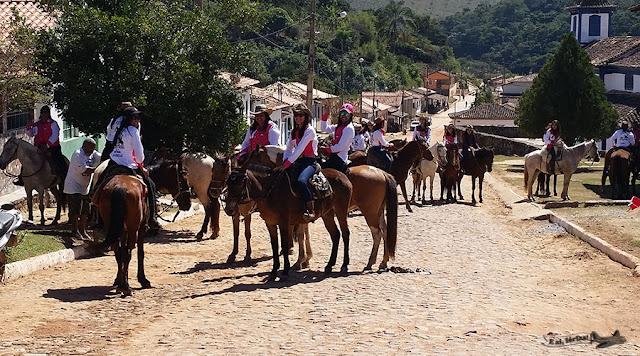 Cavalgada, Feminina, Córregos, Conceição do Mato Dentro