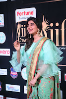 Samantha Ruth Prabhu Smiling Beauty in strange Designer Saree at IIFA Utsavam Awards 2017  Day 2  Exclusive 50.JPG