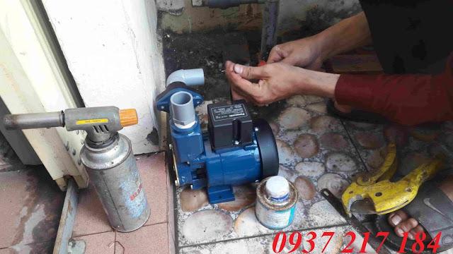 Nhị Gia sửa máy bơm nước giá rẻ nhanh chóng hiệu quả