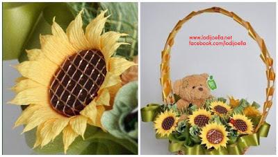 canasta-girasoles-chocolates-día-de-la-madre
