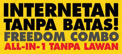 Daftar Harga Paket Internet murah Freedom Combo Indosat Ooredoo Terbaru