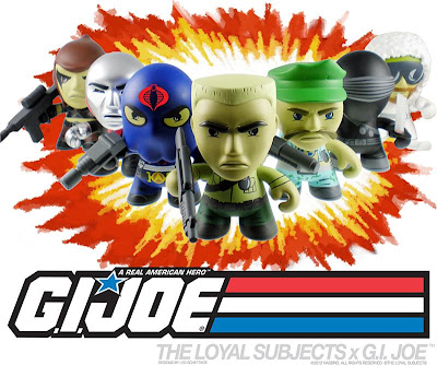 G.I. Joe Mini Figure Series 1 by The Loyal Subjects