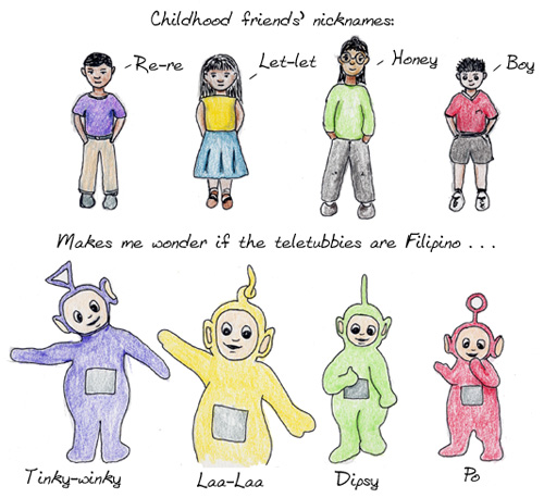 MY FICKLE MIND]: Playful Filipino names hard to get used to
