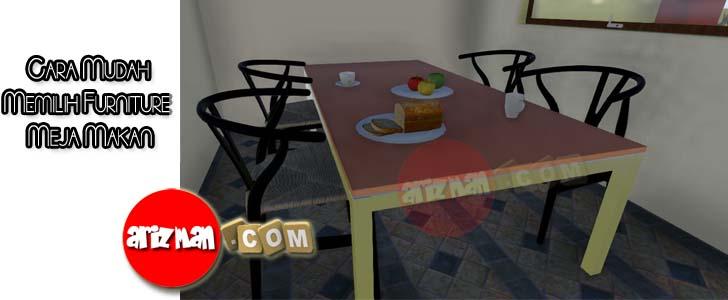 Cara Mudah Memilih Furniture Meja Makan