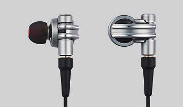 Auriculares en diseñado por Masamune Shirow