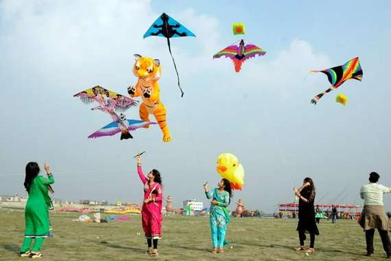 Makar Sankranti - Flying Kites