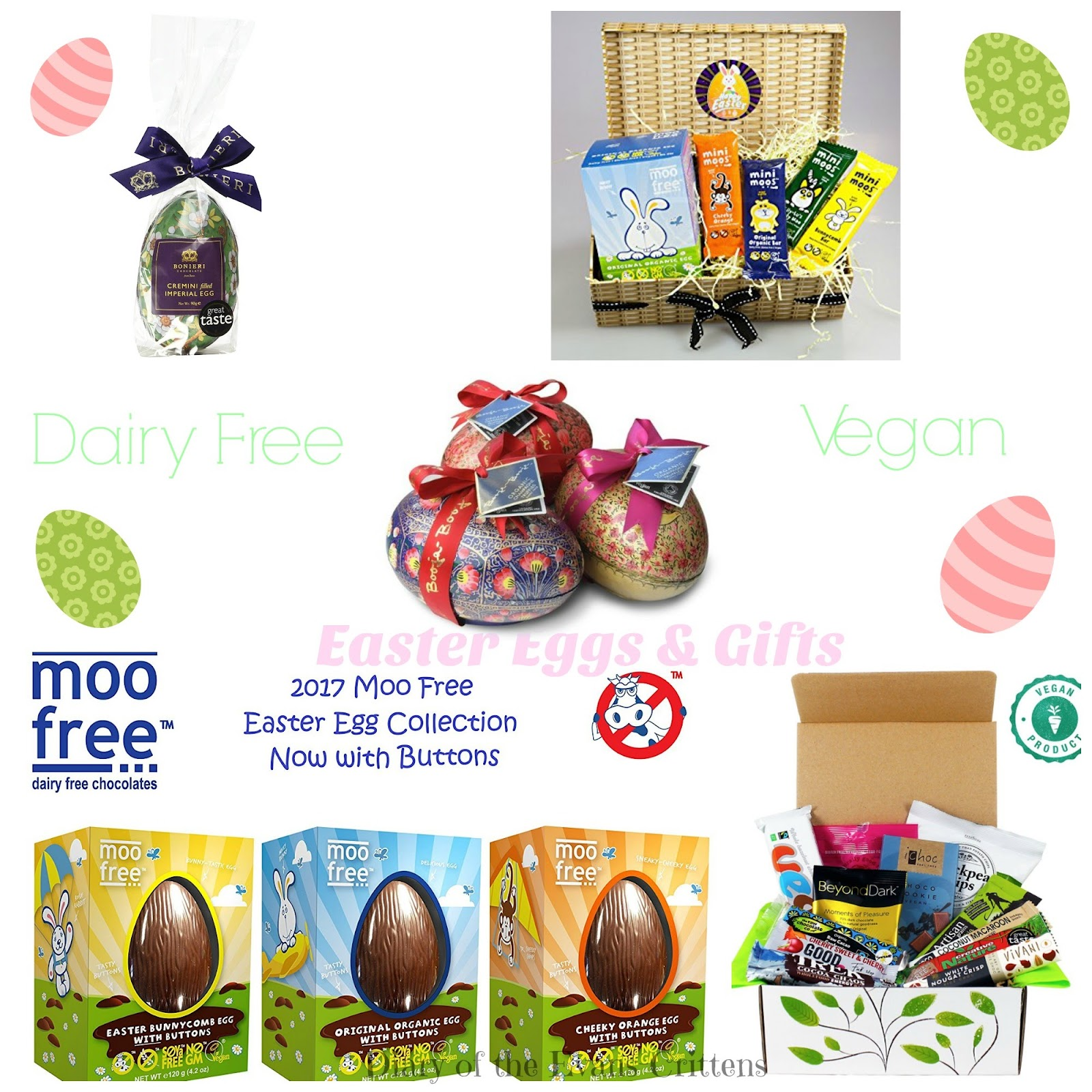 , Five Dairy Free & Vegan Chocolate Easter Eggs and Gifts