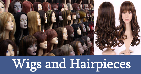 Wigs and Hairpieces for Men and Women