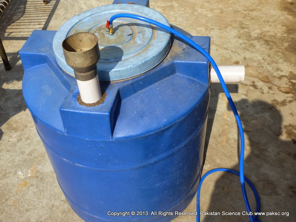 Homemade Medium size Biogas Plant for Kitchen waste ~ Biogas