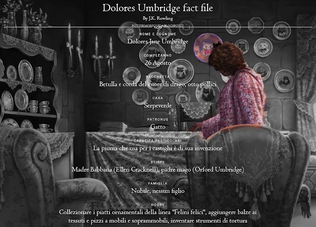 Scheda di Dolores Jane Umbridge