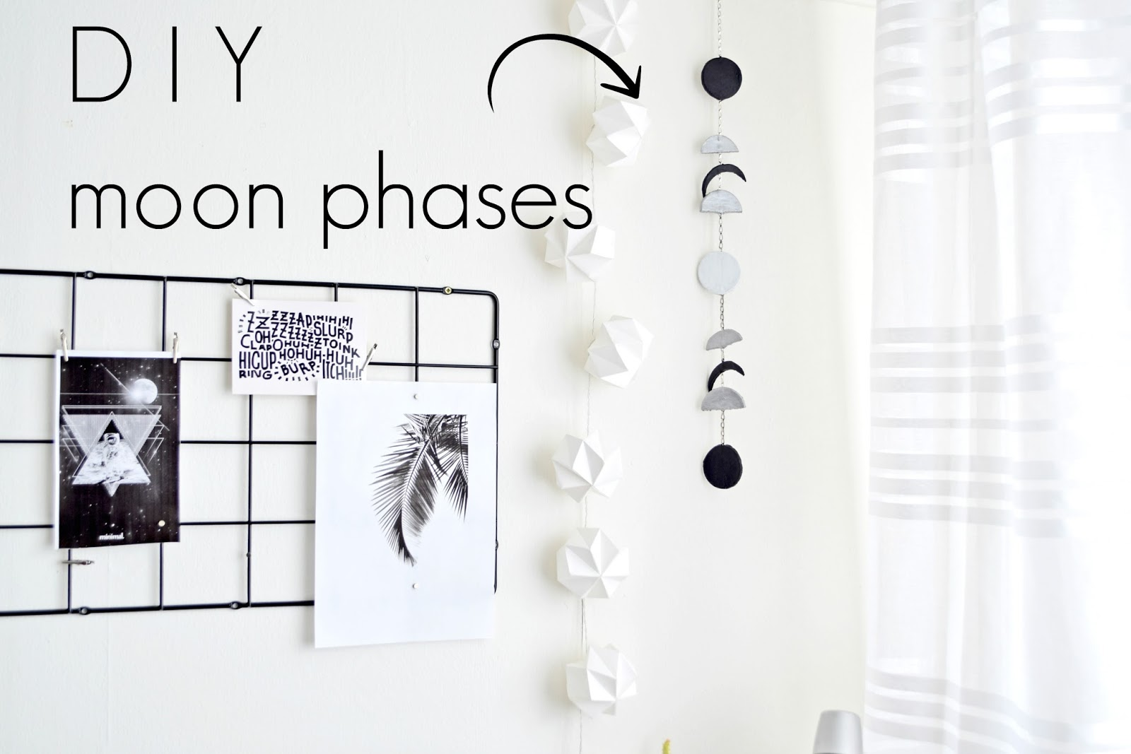 moon phases diy