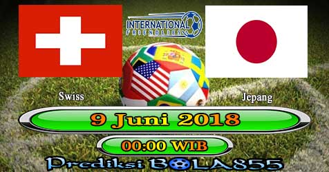 Prediksi Bola855 Switzerland vs Japan 9 Juni 2018