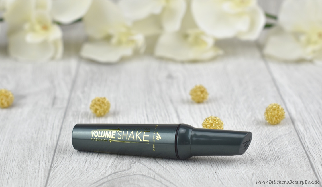 Manhattan Volume Shake Mascara - Review und Tragebilder