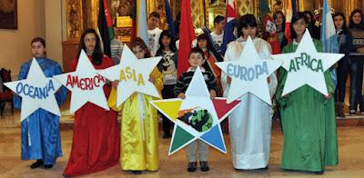 Los Sembradores de Estrellas felicitan la Navidad en nombre de los misioneros