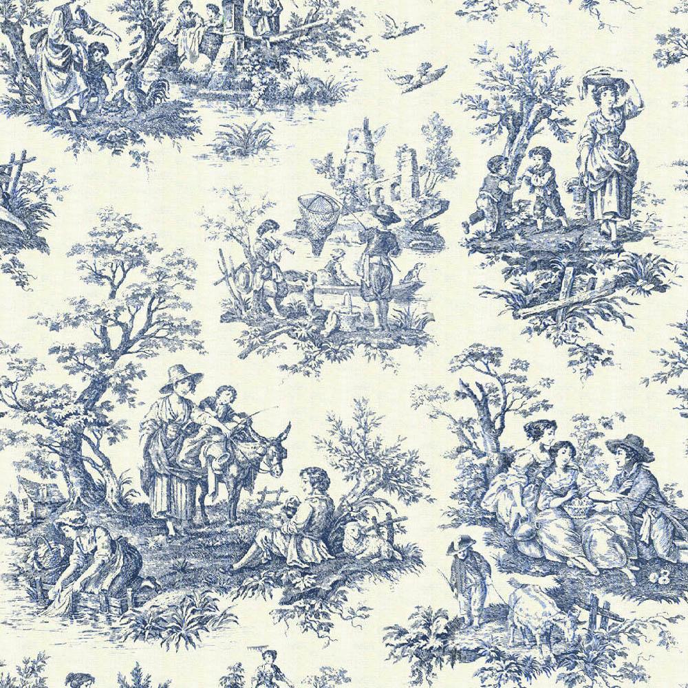 Decorating Ideas Toile Fabric: EL CALDERÍ IDEAS DE DECORACIÓN: Estampados Toile De Jouy