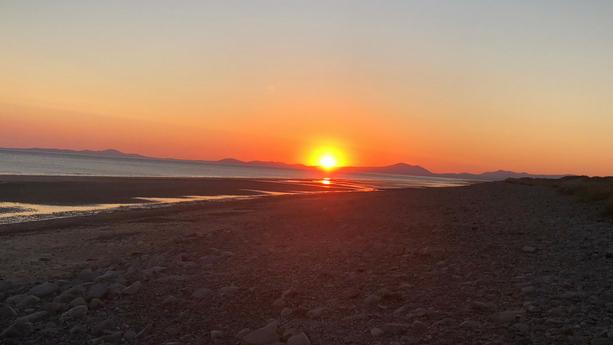 escapism vs. avoidance sunset on beach