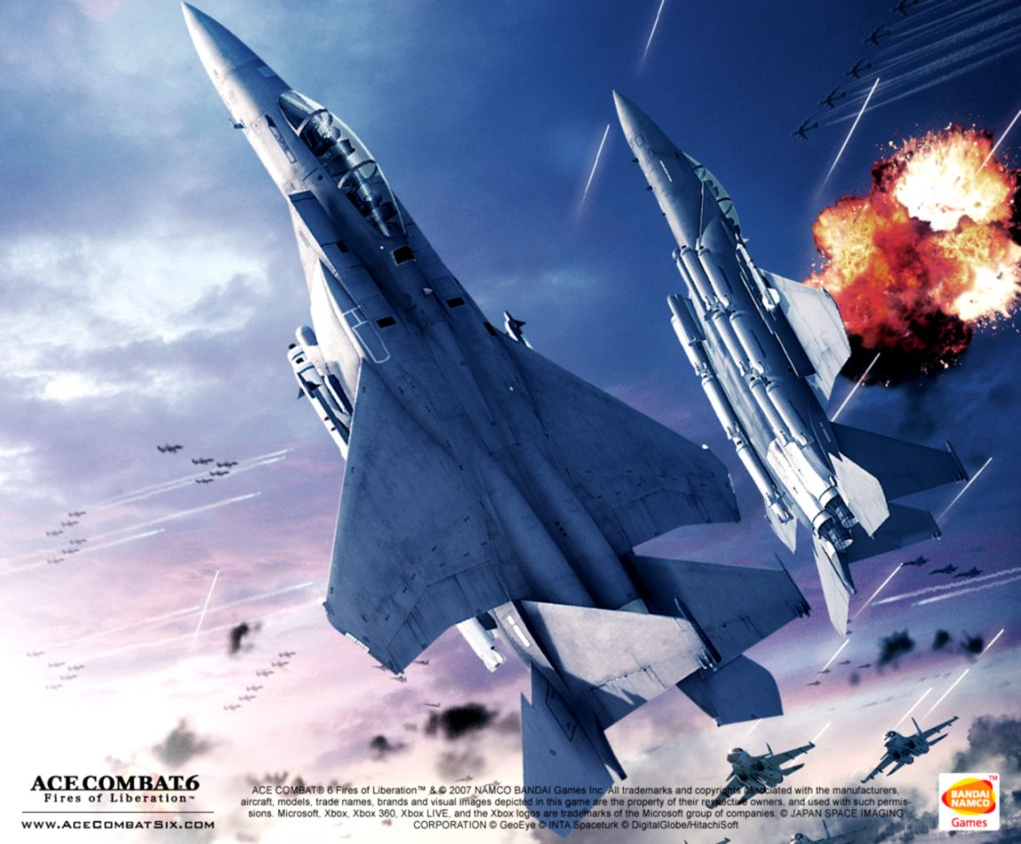Ace Combat 6 Game Wallpaper Mikespike123