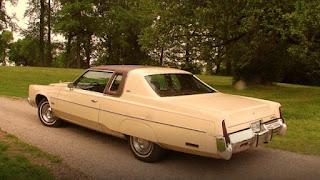 1976 Chrysler New Yorker Brougham Side Rear