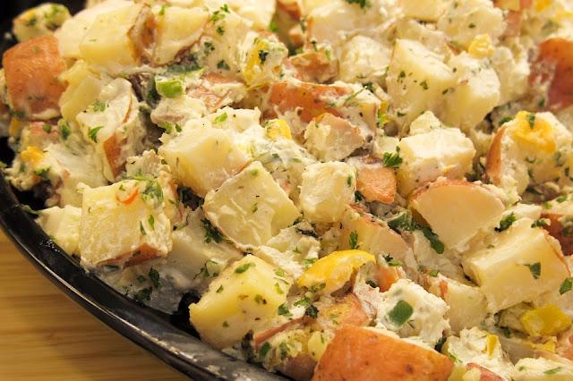 la meilleure salade des pommes de terre