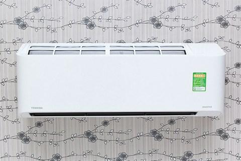 Máy lạnh toshiba ras-h10qksg-v thiết kế đơn giản, sang trọng