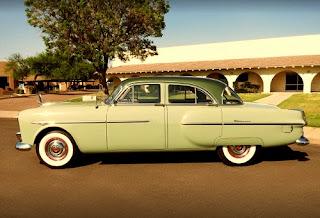 1951 Packard 300 Classic Sedan Side Left