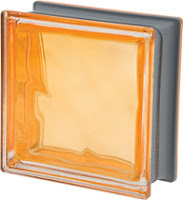brique de verre New Colour Ocra