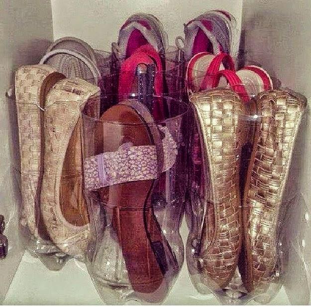 organizar sapatilhas