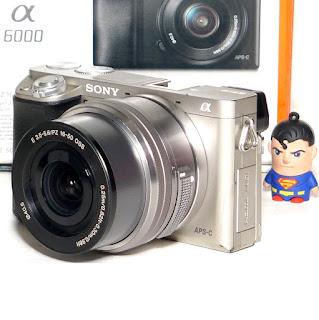 Kamera Mirrorless Sony A6000 Fullset Second