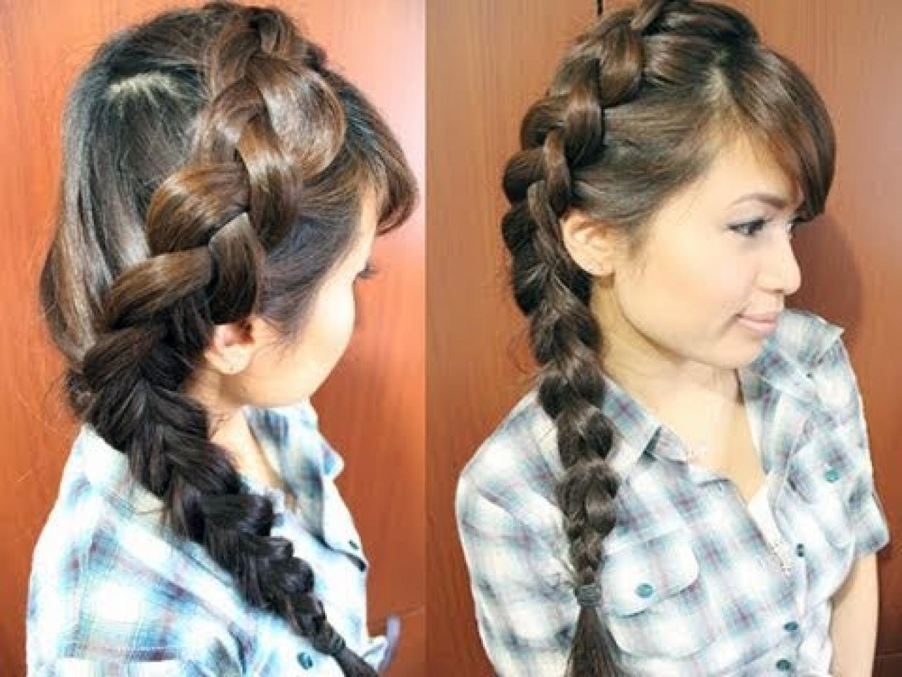 Hairstyles Braids: Style Dhoom: Braided Hairstyles Fashion Trend
