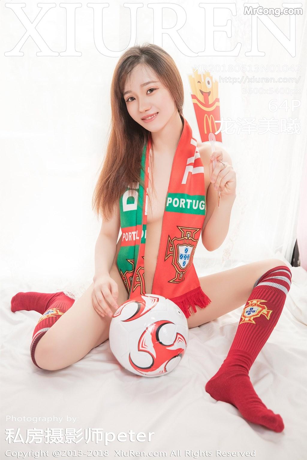 XIUREN No.1042: Người mẫu Long Ze Mei Xi (龙泽美曦) (65 ảnh)