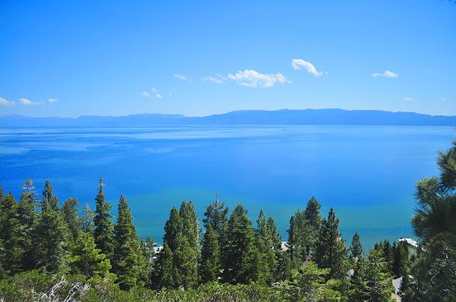 jumping diving lake tahoe alpine