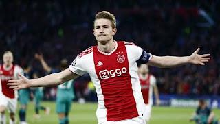 de Ligt confirms Ajax exit as Barcelona directors