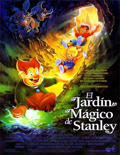 ver El jardín mágico de Stanley (A Troll in Central Park) (1994) Online