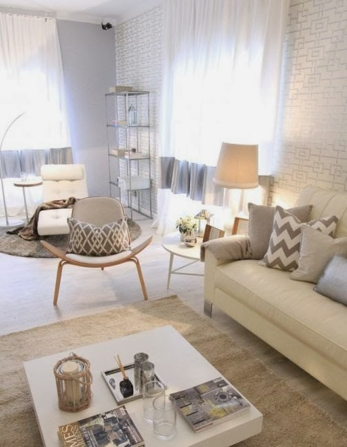 Neutral Living Room: Neutral Living Room Ideas