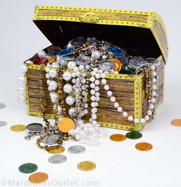 Admirable Party Ideas By Mardi Gras Outlet Pirate Treasure Chest Home Interior And Landscaping Ologienasavecom