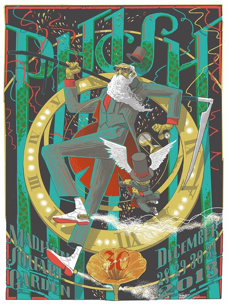phish new year poster