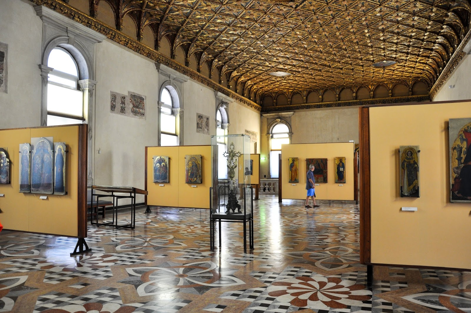 The first room, Gallerie dell'Accademia in Venice
