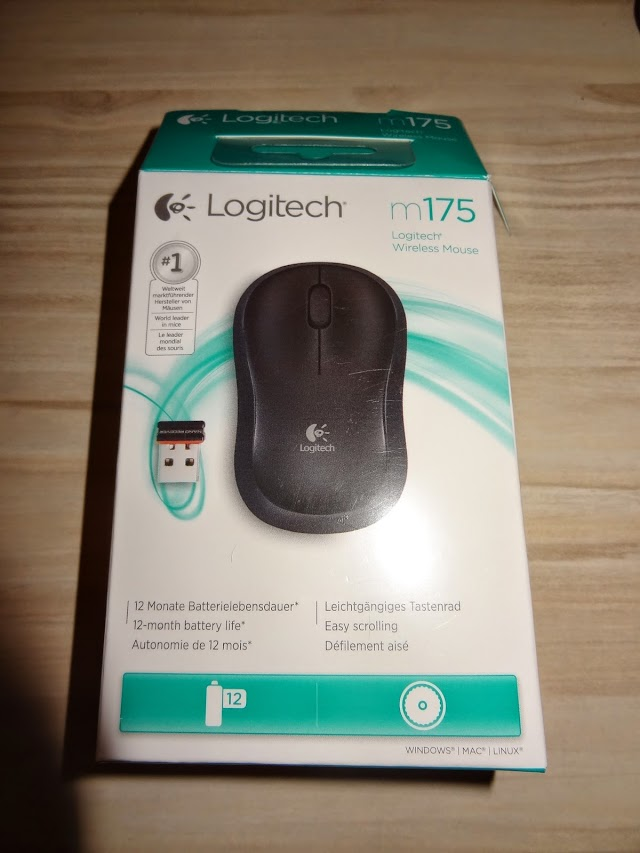 Logitech M175 wireless mouse specs and test