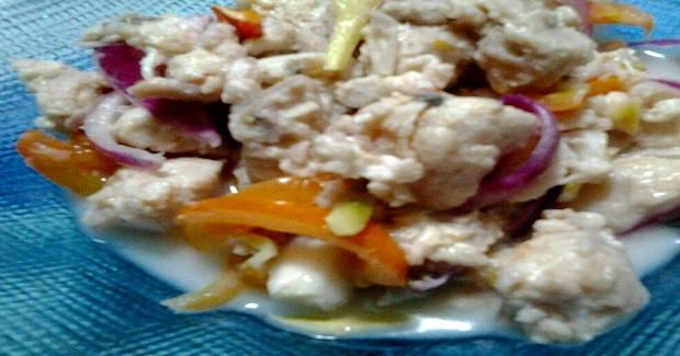 Kinilaw Na Tanigue Recipe
