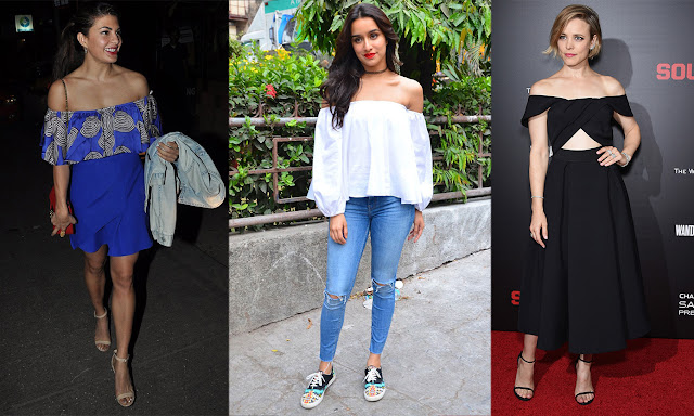 Fashion Alert: Off Shoulder Top Is The Latest Spring Trend
