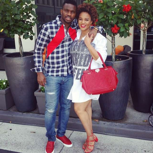Parents of two boys Adaeze & Joseph Yobo welcome third child: a baby girl