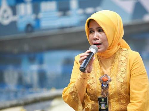 Sekretaris Dinas Pendidikan Kota Bandung Mia Rumiasari