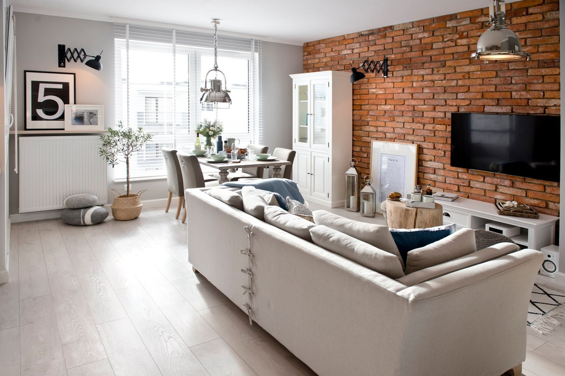 Relaxat, modern și scandinav într-un apartament din Polonia