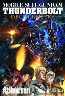 Mobile Suit Gundam Thunderbolt: December Sky -  2016 Poster