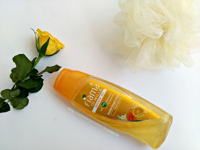 Fiama Di Wills Shower Gel- Brazillian Orange and Ginseng: Review