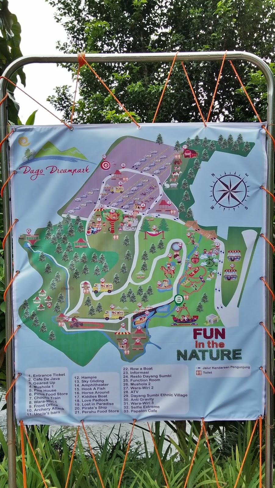 Dago Dreampark Dago Giri Bandung Warna Warni Hidup
