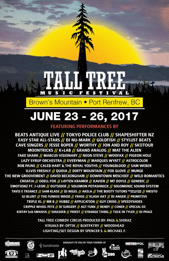 2017 Tall Tree Music Festival