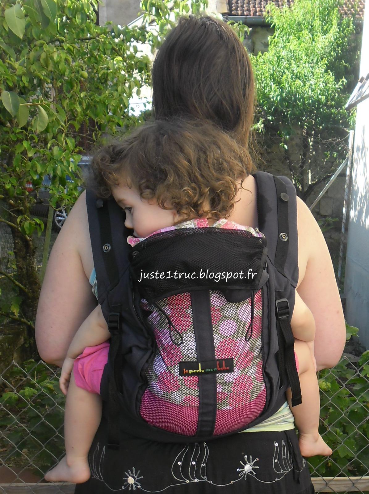 physiocarrier JPMBB portage porte-bébé préformé babycarrier full buckle  bambin maille filet d584c2442e4